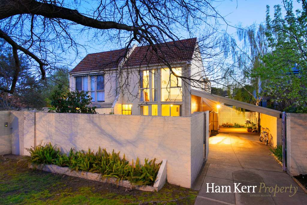 Main view of Homely townhouse listing, 1/56 Rathmines Road, Hawthorn East, VIC 3123