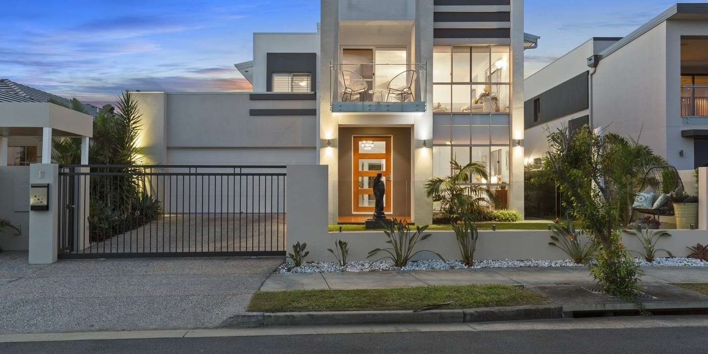 Main view of Homely house listing, 11 Harbour Rise, Hope Island, QLD 4212