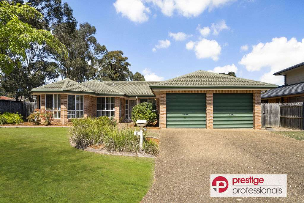 Main view of Homely house listing, 21 Jimbour Court, Wattle Grove, NSW 2173