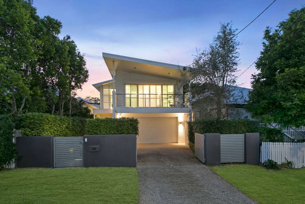 Main view of Homely house listing, 22 Bourne Street, Clayfield, QLD 4011