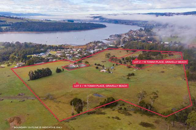 Lot 3/16 Tomah Place, Gravelly Beach TAS 7276