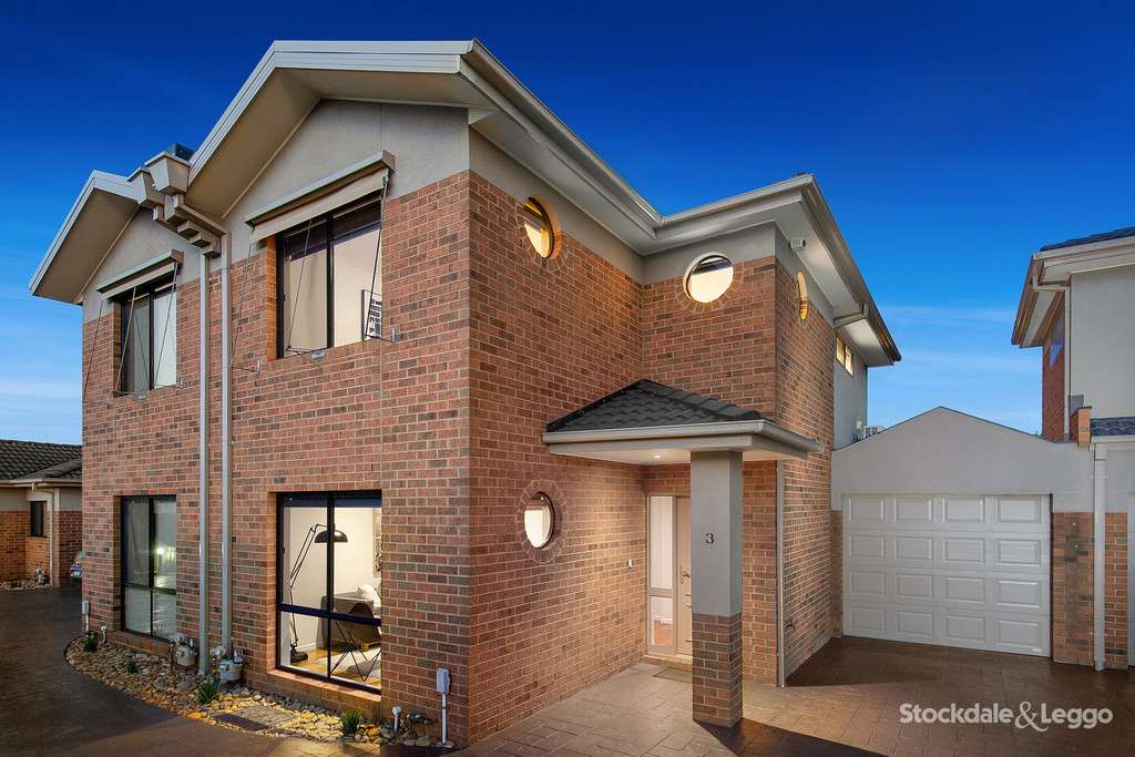 Main view of Homely townhouse listing, 3/18 Callander Road, Pascoe Vale, VIC 3044