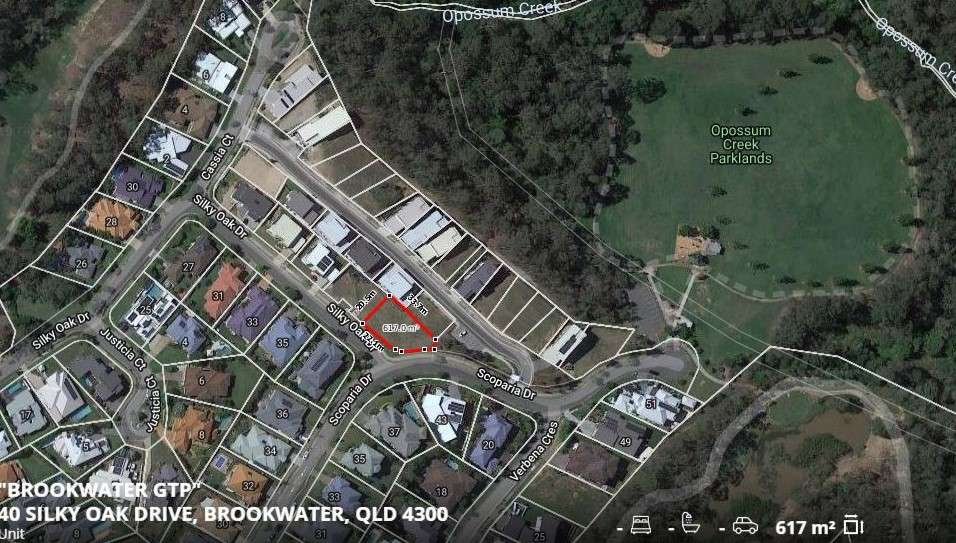 Main view of Homely  listing, 40 Silky Oak Drive, Brookwater, QLD 4300