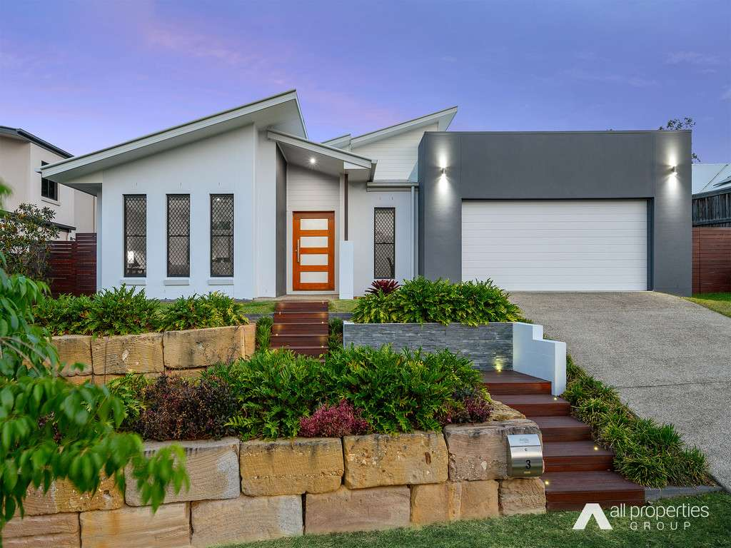 Main view of Homely house listing, 3 Lomandra court, Brookwater, QLD 4300