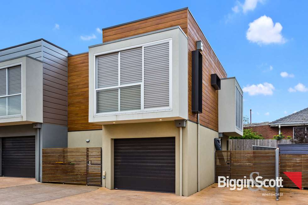 Second view of Homely townhouse listing, 2/55 Oriel Road, Ivanhoe VIC 3079