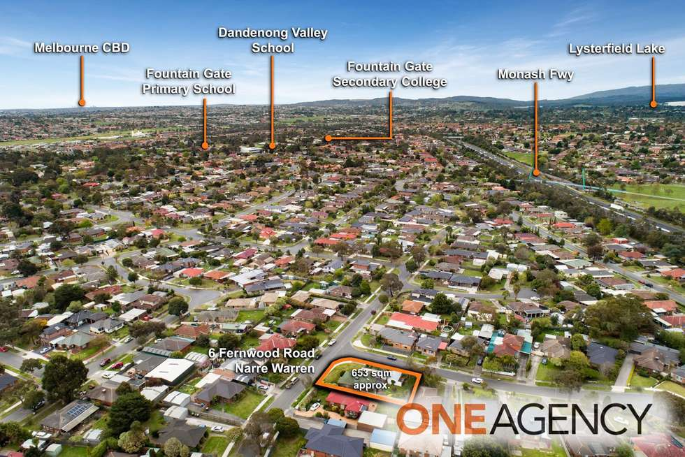 Third view of Homely house listing, 6 Fernwood Road, Narre Warren VIC 3805