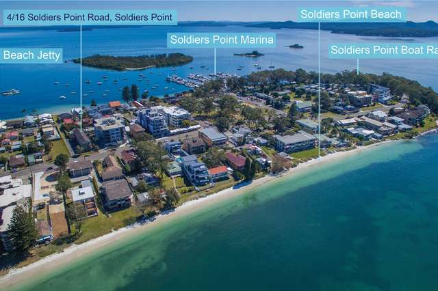 4/16 Soldiers Point Road, Soldiers Point NSW 2317