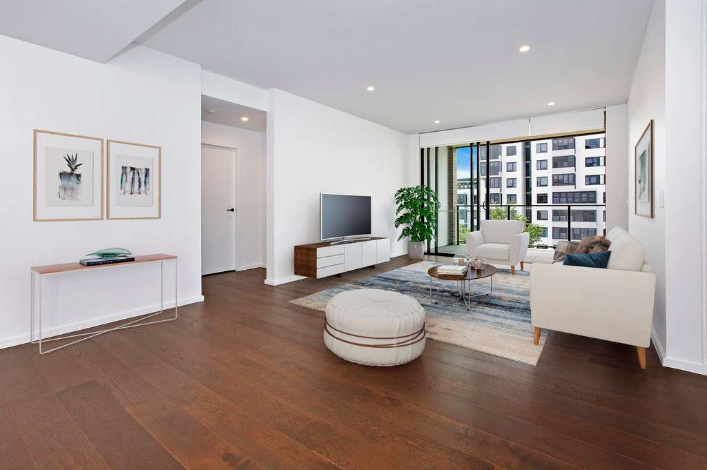 Main view of Homely apartment listing, 411/2 Malthouse Way, Summer Hill, NSW 2130