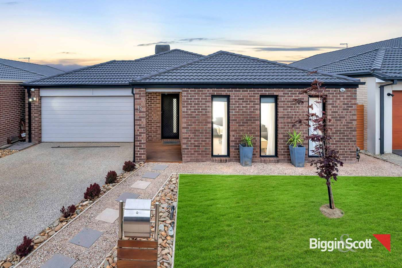 Main view of Homely house listing, 12 Bateman Drive, Harkness VIC 3337