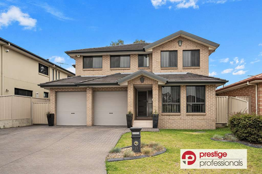 Main view of Homely house listing, 23 Culgoa Court, Wattle Grove, NSW 2173