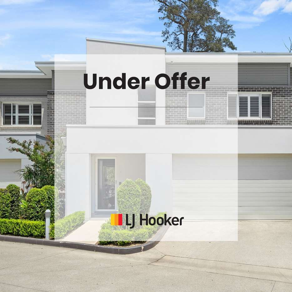 Main view of Homely townhouse listing, 13/8 Cathay Place, Kellyville, NSW 2155