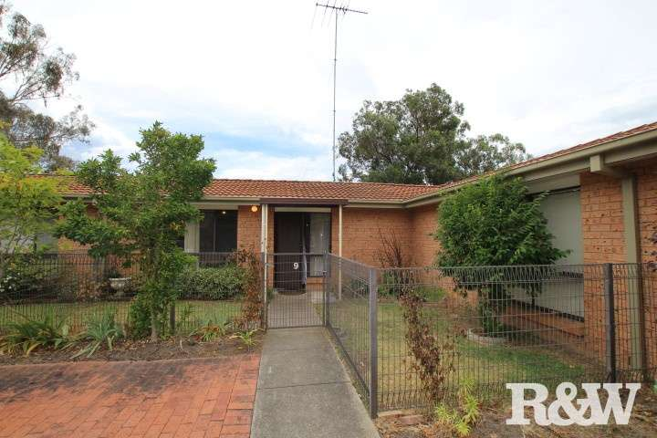 Main view of Homely villa listing, 9/160 Maxwell Street, South Penrith, NSW 2750