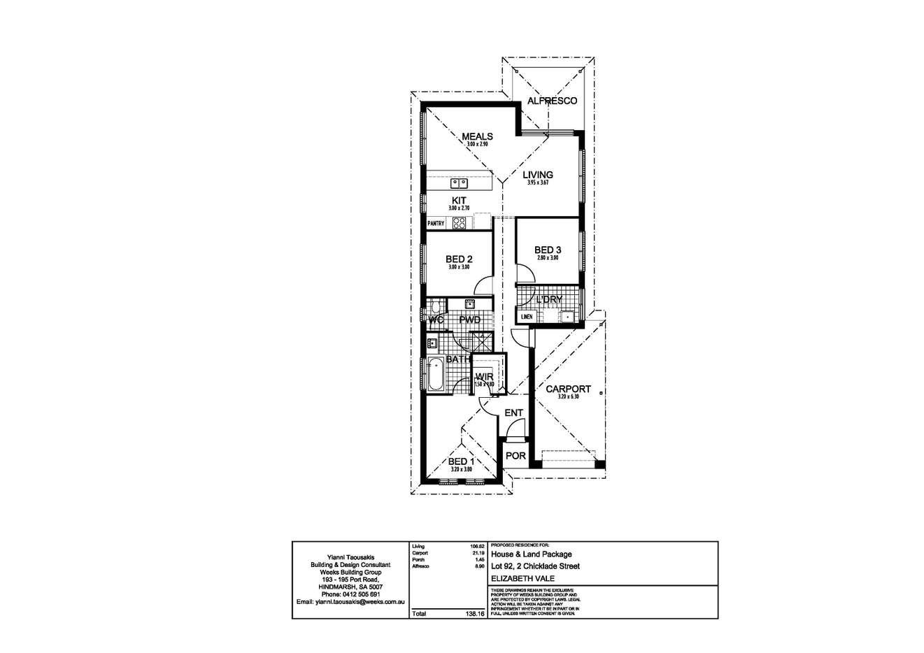 Lot 92, 2 Chicklade Street, Elizabeth Vale, SA 5112
