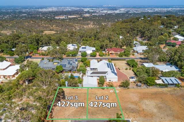 Lot 2&3, 6 Seaview Terrace, Kalamunda WA 6076