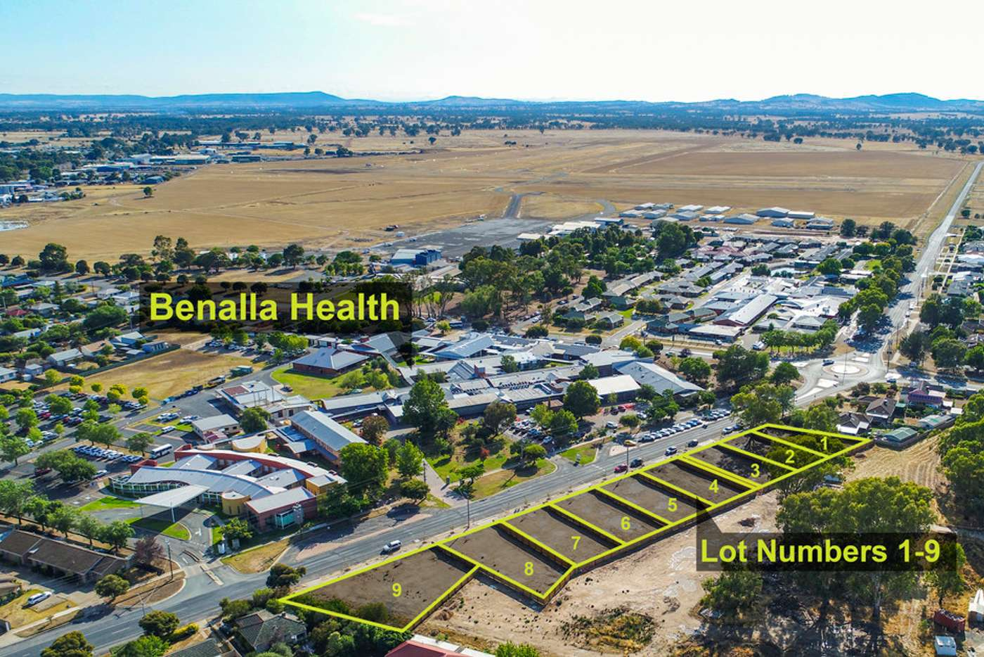 Main view of Homely residentialLand listing, Lot 2 / 56 Coster Street, Benalla VIC 3672