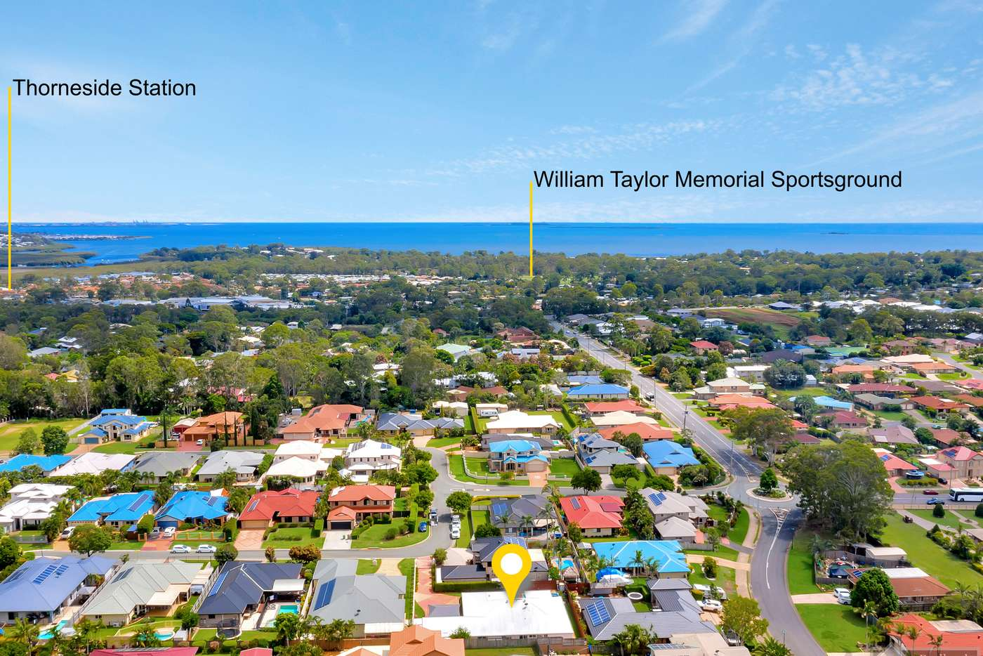 Main view of Homely house listing, 12 Mallan Terrace, Birkdale QLD 4159