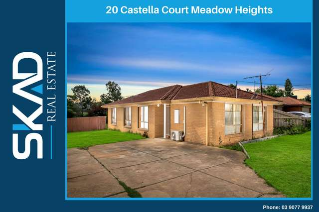 20 Castella Court, Meadow Heights VIC 3048