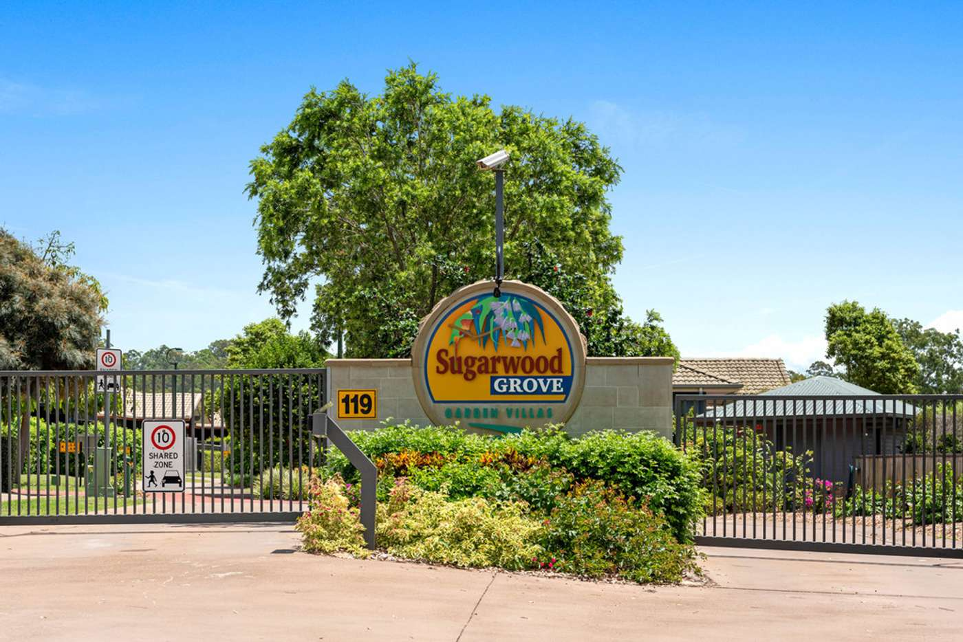 Main view of Homely villa listing, 44/119 Sugarwood Grove, Moggill QLD 4070