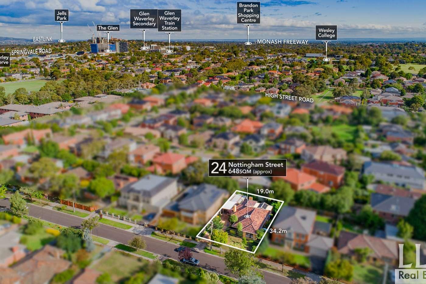Main view of Homely house listing, 24 Nottingham Street, Glen Waverley VIC 3150