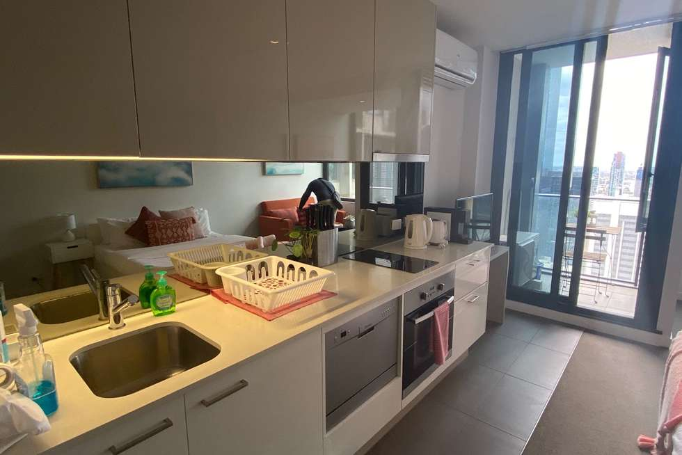 Fourth view of Homely apartment listing, 4104/220 Spencer Street, Melbourne VIC 3000