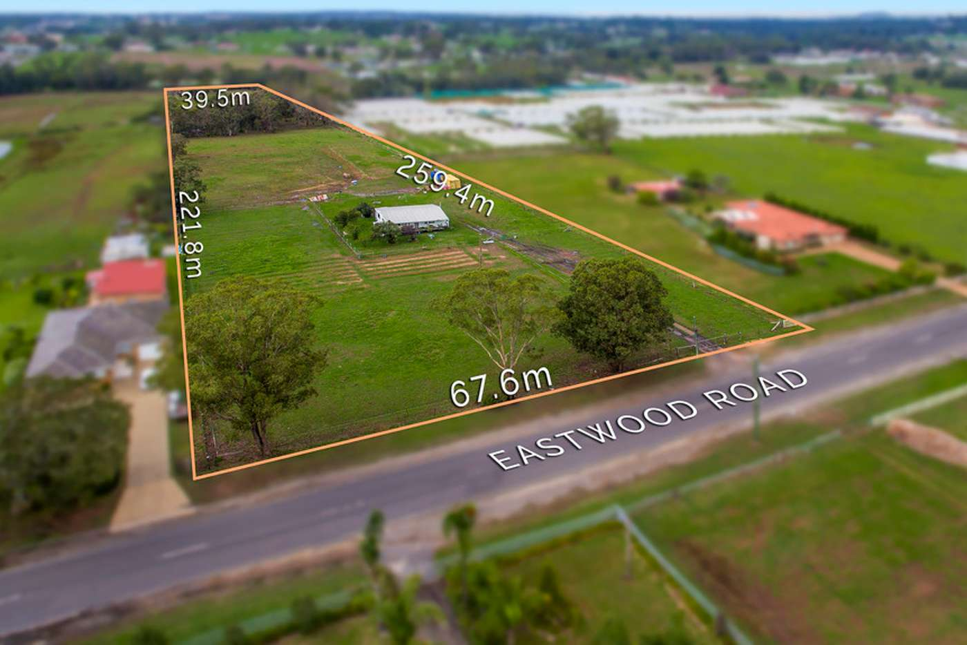 Main view of Homely acreageSemiRural listing, 125 Eastwood Road, Leppington NSW 2179