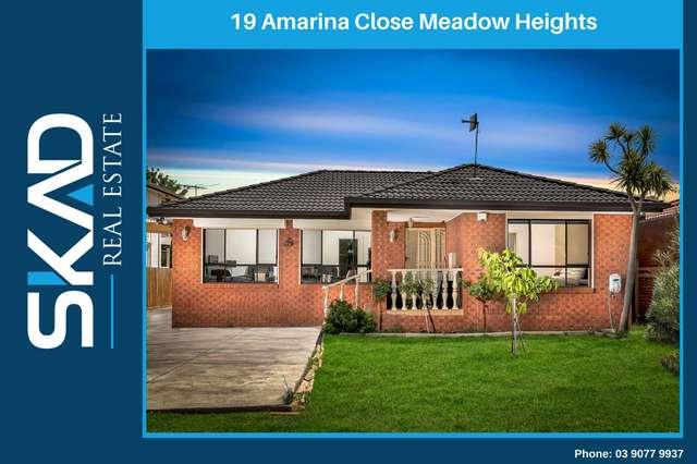 19 Amarina Close, Meadow Heights VIC 3048