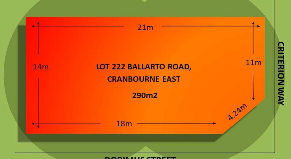 Lot 222 Ballarto Road, Cranbourne East VIC 3977