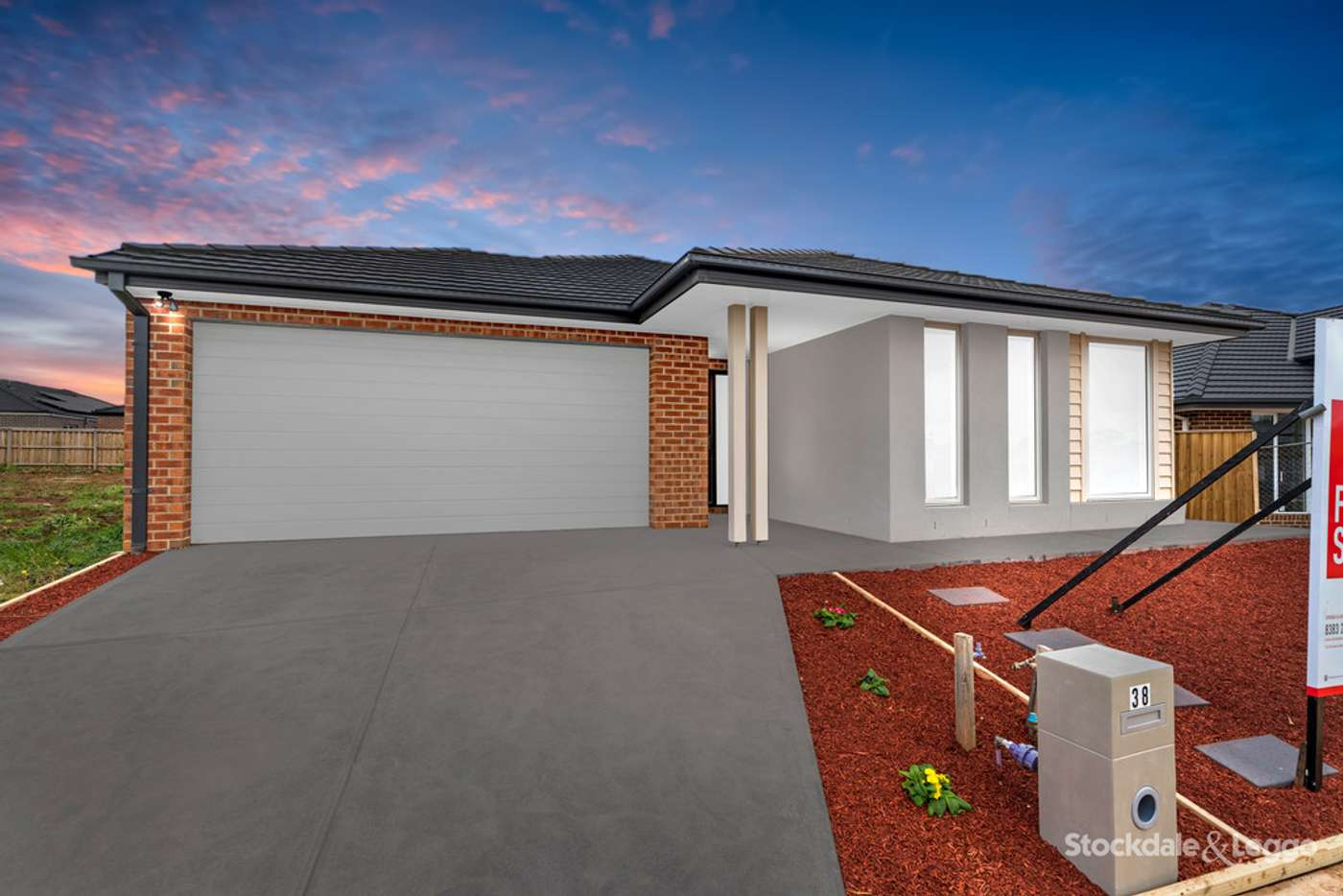Main view of Homely house listing, 38 Amaretto Circuit, Manor Lakes VIC 3024