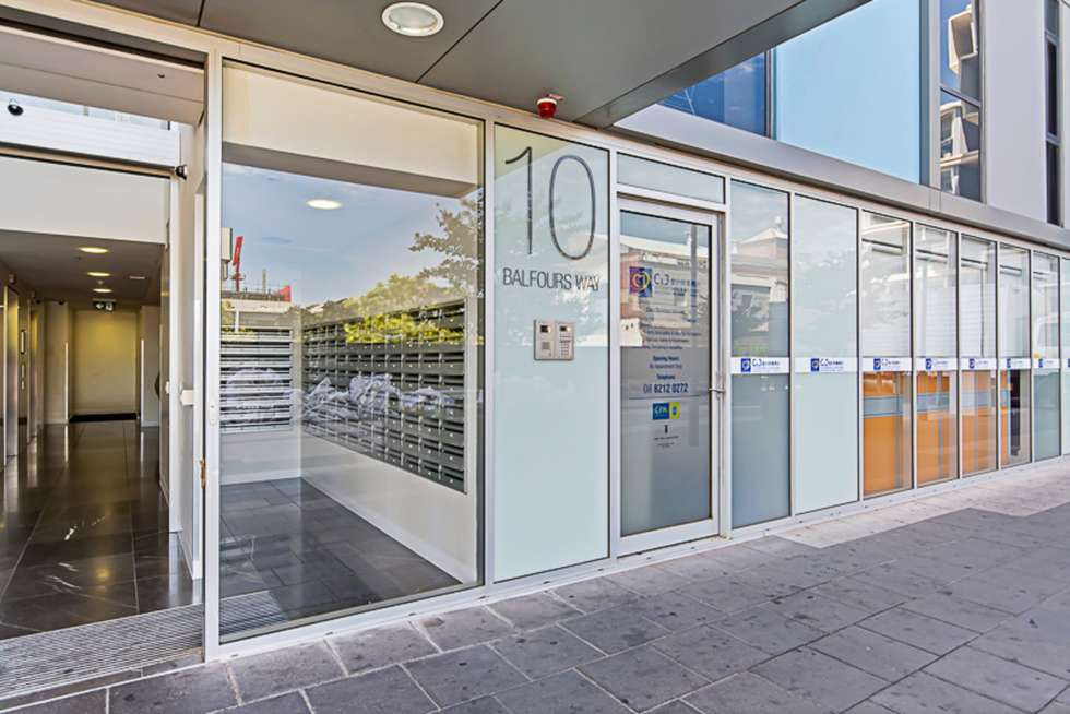 Third view of Homely apartment listing, 1604/10 Balfours Way, Adelaide SA 5000