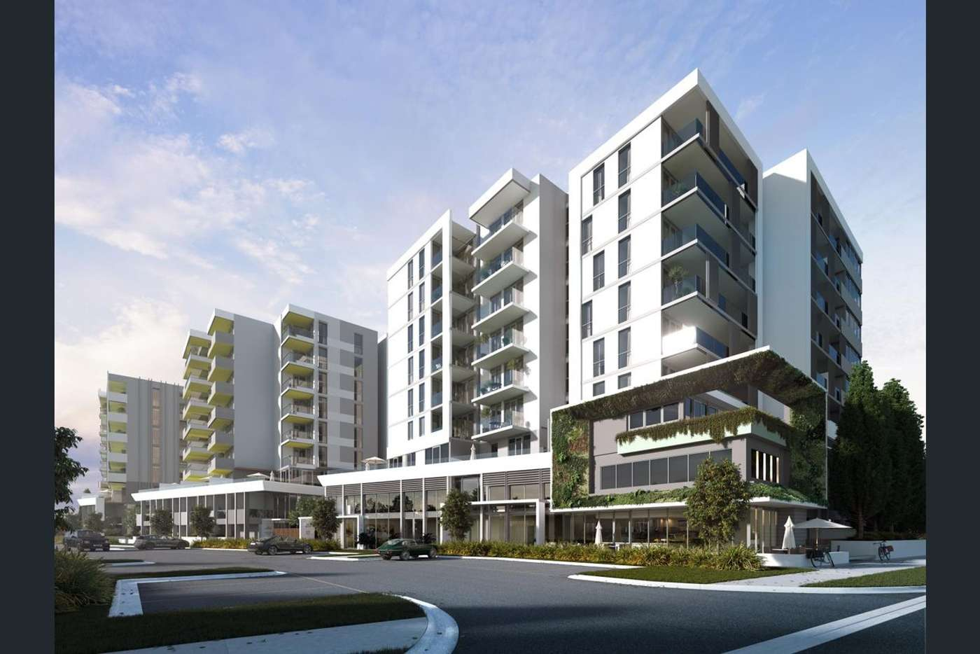 Main view of Homely apartment listing, 507/5 Olive York Way, Brunswick West VIC 3055