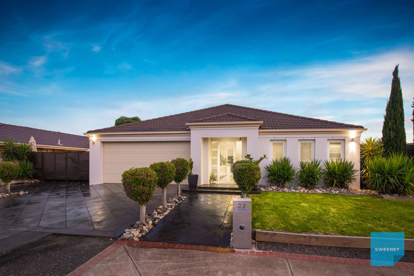 Main view of Homely house listing, 22 Netherton Place, Caroline Springs VIC 3023