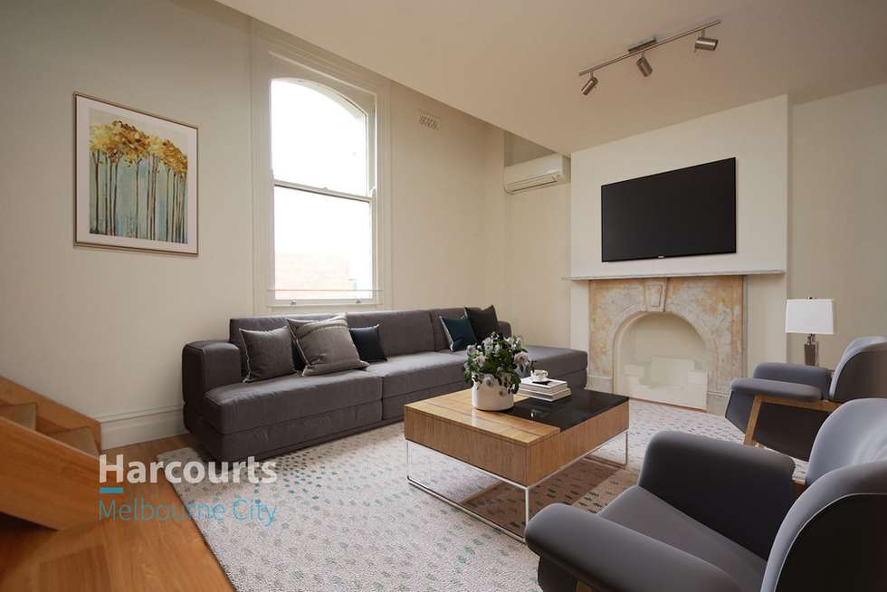 Third view of Homely apartment listing, 202/5 Stawell Street, West Melbourne VIC 3003