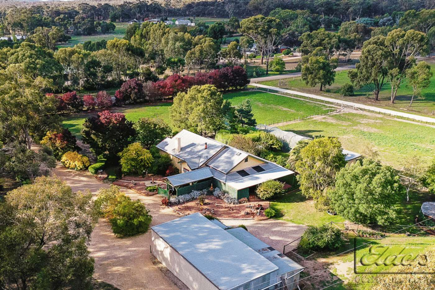 Main view of Homely acreageSemiRural listing, 54 Pearces Road, Mandurang VIC 3551