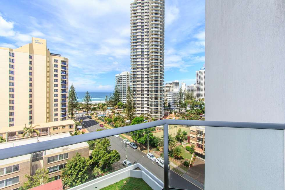 Third view of Homely apartment listing, 911/25 Laycock Street, Surfers Paradise QLD 4217