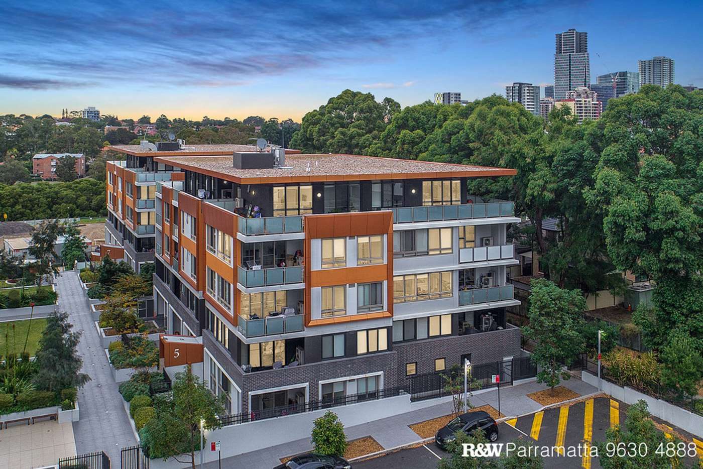 Main view of Homely unit listing, 5501/1A Morton Street, Parramatta NSW 2150