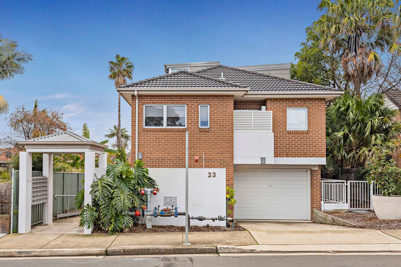 Main view of Homely unit listing, 1/23 Ada Street, Concord NSW 2137