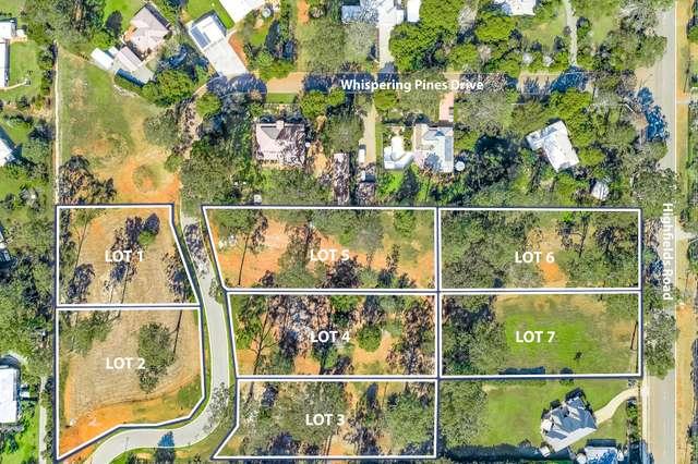 Lot 1 - Lot 7 Whispering Pines Drive, Highfields QLD 4352