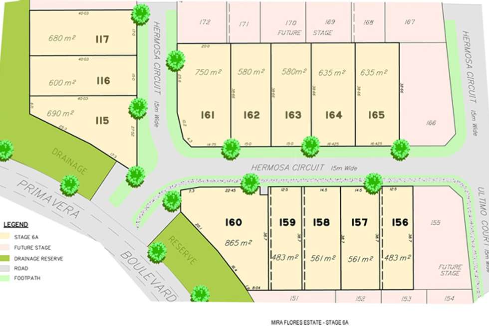 Third view of Homely residentialLand listing, Lot 161 Hermosa Circuit, Beaconsfield QLD 4740