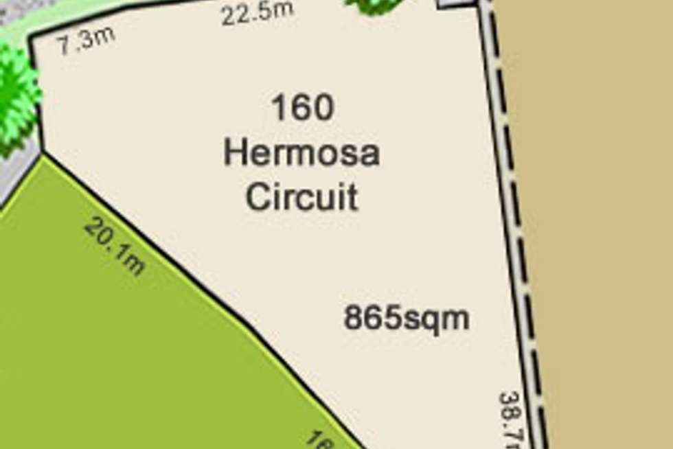 Second view of Homely residentialLand listing, Lot 160 Hermosa Circuit, Beaconsfield QLD 4740
