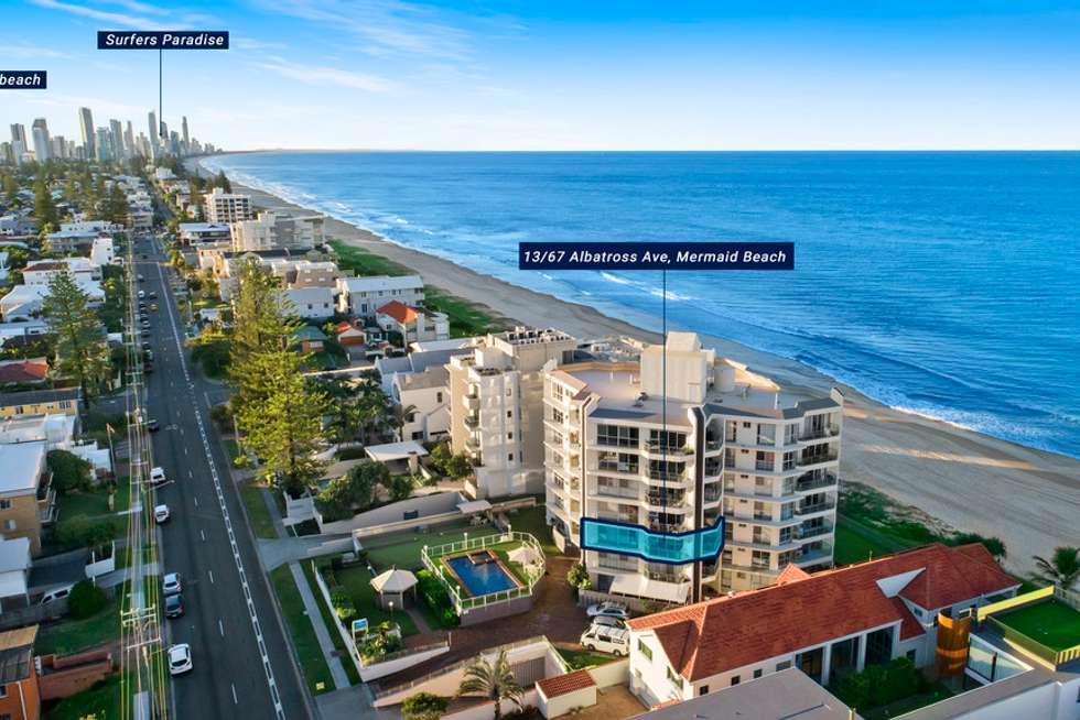 Fourth view of Homely apartment listing, 13/67-71 Albatross Avenue, Mermaid Beach QLD 4218