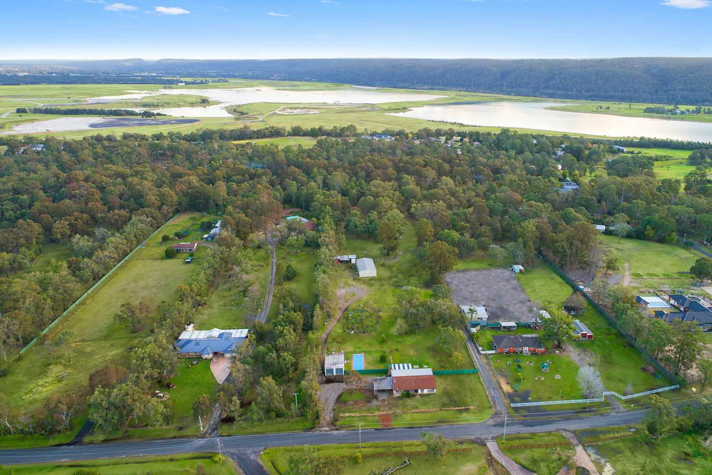 Main view of Homely acreageSemiRural listing, 166-170 East Wilchard Road, Castlereagh NSW 2749