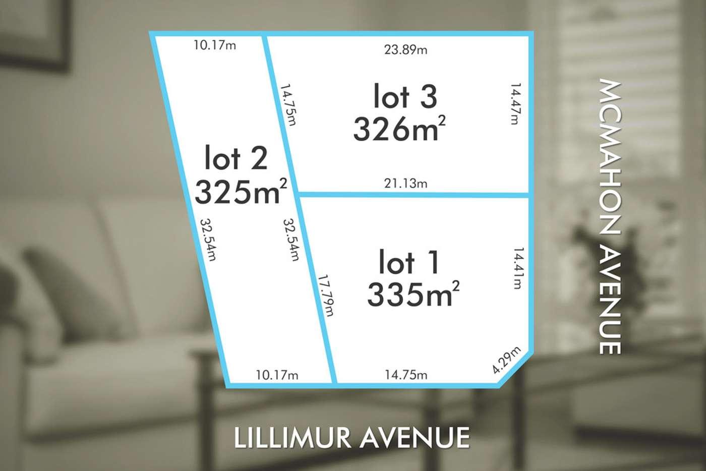 Main view of Homely residentialLand listing, Lot 1 2 Lillimur Avenue, Morphett Vale SA 5162
