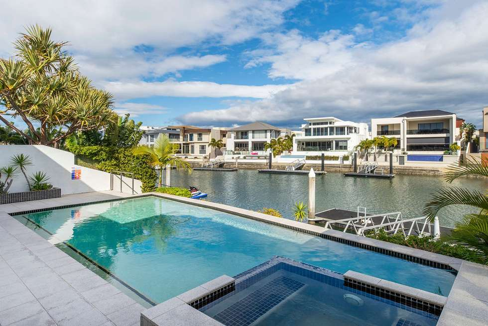 Third view of Homely house listing, 47 KNIGHTSBRIDGE PARADE EAST, Sovereign Islands QLD 4216