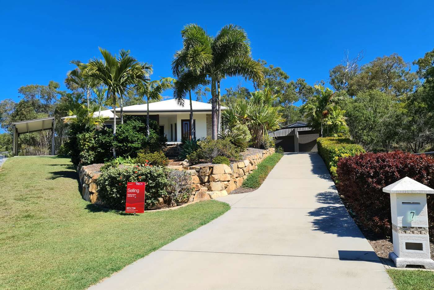 Main view of Homely house listing, 7 Caitlin Court, Boyne Island QLD 4680