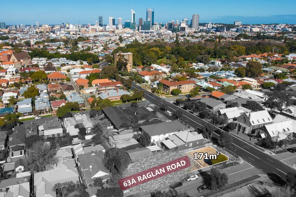 Second view of Homely residentialLand listing, 63A Raglan Road, Mount Lawley WA 6050