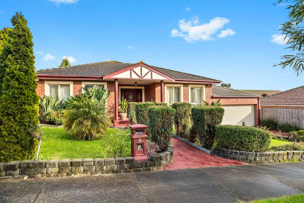Third view of Homely house listing, 8 Revilo Court, Mulgrave VIC 3170