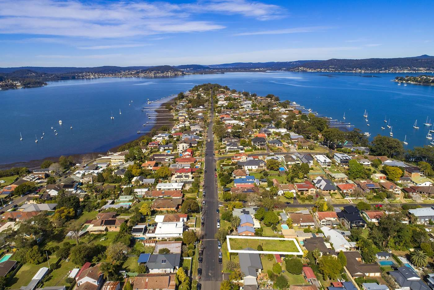 Main view of Homely residentialLand listing, 130 Albany Street, Point Frederick NSW 2250