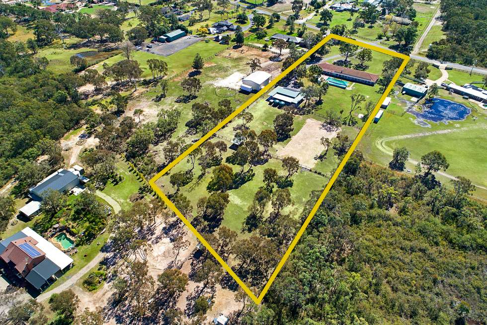 Second view of Homely acreageSemiRural listing, 224 Hinxman Road, Castlereagh NSW 2749