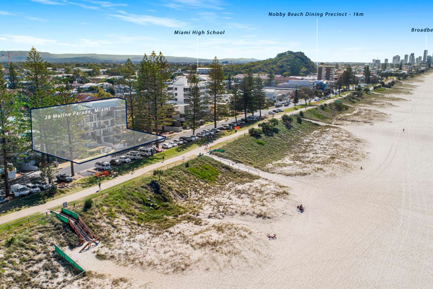 Main view of Homely apartment listing, 6/28 Marine Parade, Miami QLD 4220