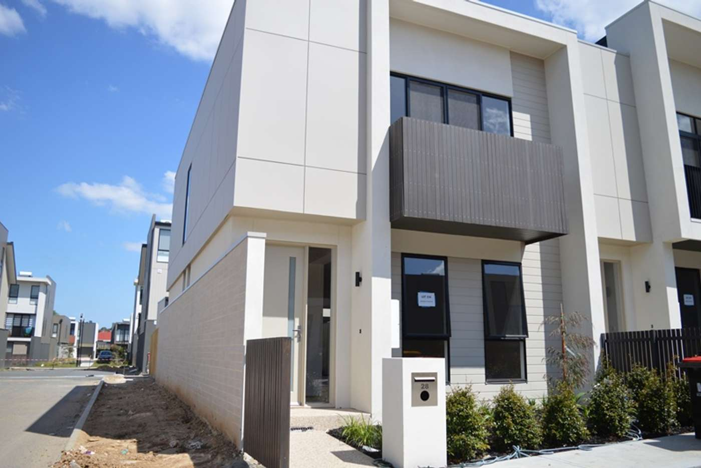 Main view of Homely townhouse listing, 28 Mulberry Avenue, Cheltenham VIC 3192